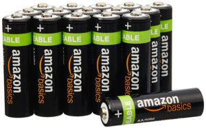 piles rechargeables Amazon